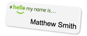Standard Name Badges | www.namebadgesinternational.ie